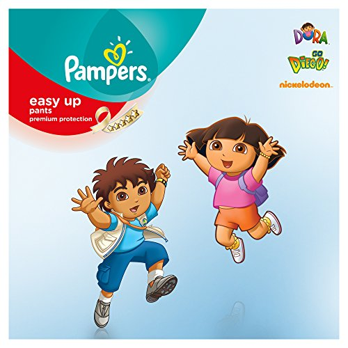 Pampers Windeln Easy up Gr. 4 Maxi 8-15 kg Mega plus Pack, 1er Pack (1 x 96 Stück) - 3