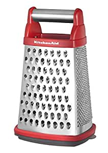 KitchenAid Râpe à fromage Rouge