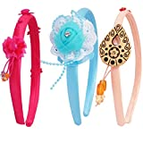#3: SUPER DROOL FANCY GIRLS HAIR BAND COMBO (SET OF 3)
