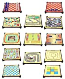 #3: Sufi World 13-in-1 Magnetic Games for Family, Chess, Backgammon, Ludo, Tic-Tac-Toe, Snakes & Ladders,Checkers, 9 Men's Morris, Travel Bingo, Football, Space venture, Train chess, Racing Game, Steeplechase