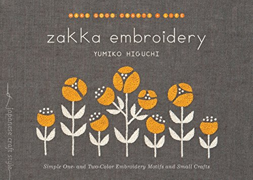 Zakka Embroidery por Yumiko Higuchi