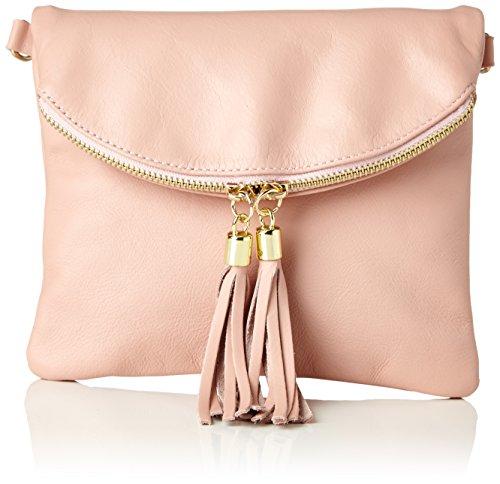 Bags4Less Damen Dubai Clutch, Pink (Rosa), 4x19x22 cm