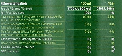 MCT-Öl aus 100% Kokosöl Extrakt Geschmacksneutral Vegan - 500ml inkl. Ausgießer