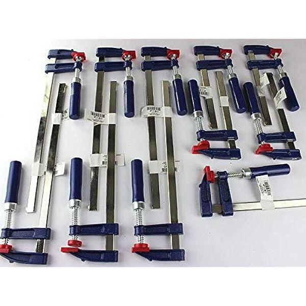 300x50 Zwinge Klemmzwinge Einhandzwinge 11 x Schraubzwinge Set 200x50