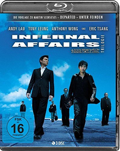 Bild von Infernal Affairs 1-3 - Trilogie [Blu-ray]