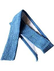 TOOGOO(R) Bleu Autocollant Tennis Badminton Racquet Serviette Grip 25.5 pouce