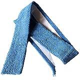 Dcolor Steel Blue Self-adhesive Tennis Badminton Racquet Towel Grip 29.5