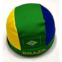 SJB-mz Copa del Mundo Banderas Sombrero Fútbol Spurs Diadema Screaming Props Bar Alemania, Brasil
