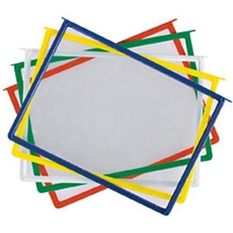 Nobo 8480899 Cartelline Pivodex, Confezione da 10, Multicolore