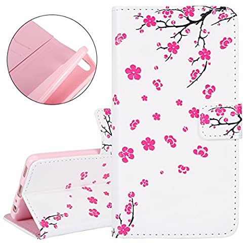 ISAKEN Case for Huawei P9 - Relief Pattern Design Flip PU Leather Bookstyle Celle Phone Case Luxury Wallet Magnetic Mobile Cover Protect Skin Stand Case Pouch with Card Holder -Flying pinf