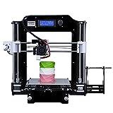 INFITARY Reprap Prusa i3 DIY 3D Drucker Selbstbausatz Kit, Rapid Prototyping Unmontierter dreidimensionaler FDM 3D Druck