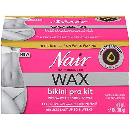 Nair, Hair Remover, Wax Bikini Pro Kit, 3.5 oz (100 g)