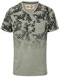 Hommes Tokyo Laundry Allez Hawaïen Décoloré Imprimé Floral Coton T-shirt