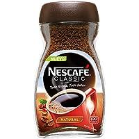 NESCAFÉ Café Classic Soluble Natural | Bote de cristal | Paquete de 6 x 200g de café - Total 1,2 Kg