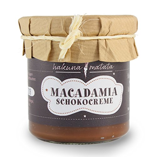 Macadamia Schokocreme/Nusscreme - 150 g Glas