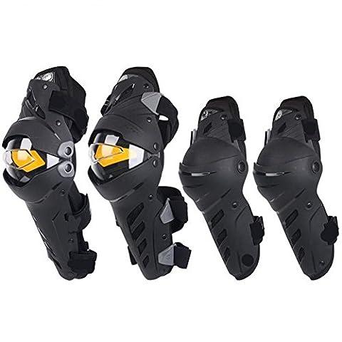 XG Motorrad-Schutz PC-Rumpf-Schwarz-Fall-Sommer-Reitausrüstung