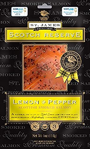 St James Scotch Reserve Smoked Salmon with Lemon &