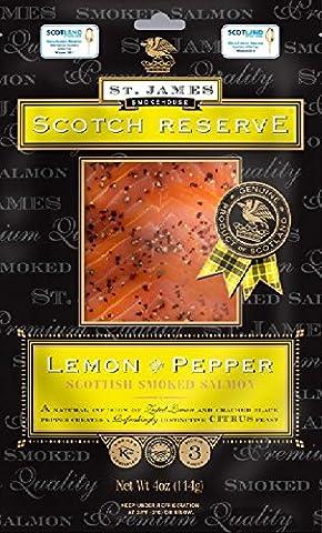St James Scotch Reserve Smoked Salmon with Lemon & Pepper