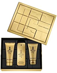 Paco Rabanne One Million 3 Pieces Gift Set 100 ml Eau De Toilette + 100 ml 4449254600ed