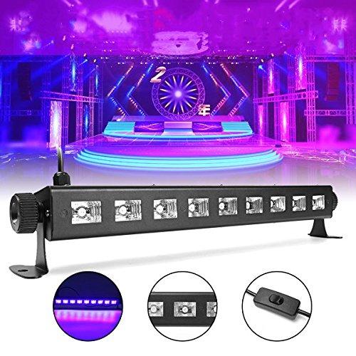 BZAHW 27W 385NM UV Auto Farbwechsel LED Bühnenlicht für Bar Disco Party Club Weihnachten BZAHW