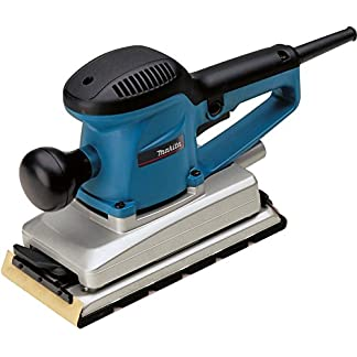 Makita BO4901J – Lijadora (Lijadora manual, Multilijadora, Negro, Azul, Rectangular, 22000 RPM, 71 dB)