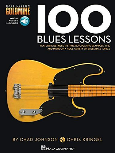 100 blues lessons guitare basse+enregistrements online (Bass Lesson Goldmine)
