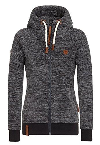 Naketano Female Zipped Jacket Gigi Meroni Anthracite Melange, M