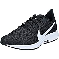 Nike WMNS NIKE AIR ZOOM PEGASUS 36, Women's Women Road Running Shoes, Black (Black/White-Thunder Grey 004), 6.5 UK (40.5 EU)