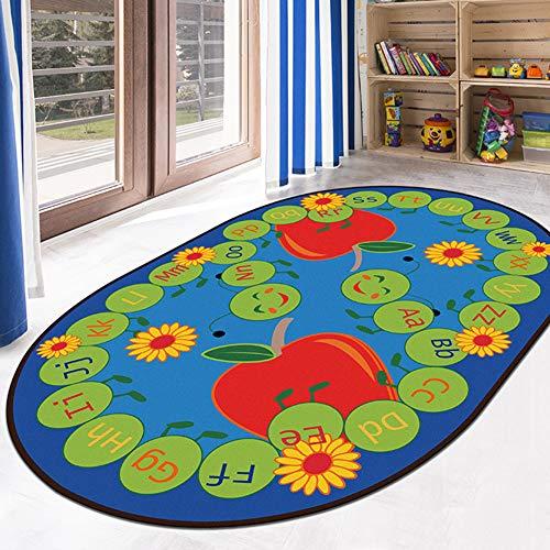 Alfombra para Bebé Tapete Antideslizante Alfombra para Jugar Tapete para Sala Infantil,#1,60×90Cm