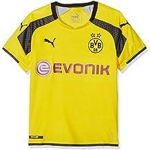 Puma - Camiseta para niños réplica del Equipo Borussia Dortmund BVB con  Logotipo del patrocinador c073fa0c266ea