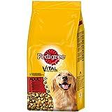 Pedigree Adult Hundefutter Rind und Gemüse, 1 Beutel (1 x 15 kg)