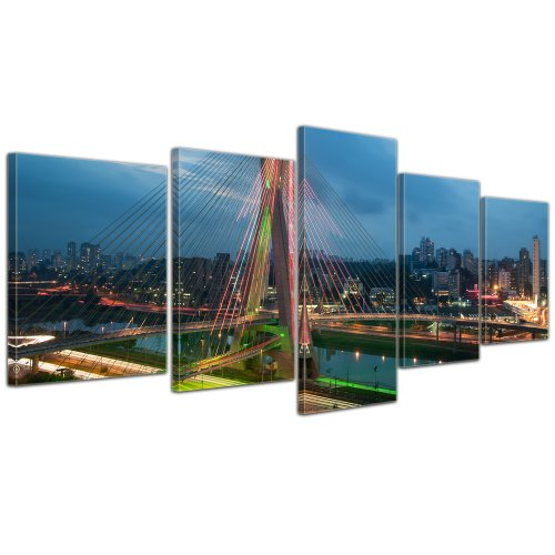 bilderdepot24-leinwandbild-the-bridge-sao-paulo-brasilien-200x80-cm-5-teilig-fertig-gerahmt-direkt-v