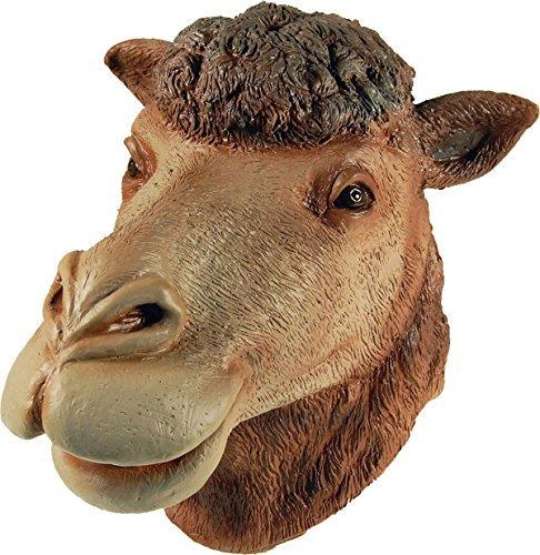 Erwachsene Karneval Dschungel Party Halloween Weihnachten Weihnachten Tier Clubwear Cosplay Maske - Kamel Überkopf, Eine Größe