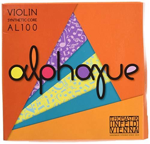 Thomastik Corde per Violino ALPHAYUE nucleo di nylon, set 4/4 medium, Misura 325mm / 12.8'