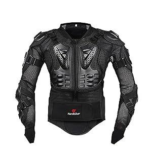 AKAUFENG Motorrad Protektorenjacke Protektorenhemd Motorrad S-5XL, MTB Protektoren Schutzkleidung Schutzjacke