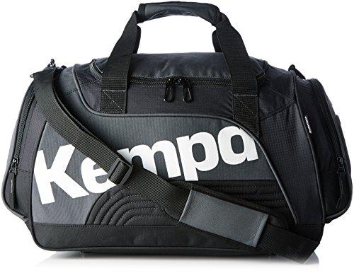 Kempa Sportline - Borsone da sport, misura M, 60 L, colore: Nero/Antracite/Bianco