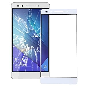 Huawei Honor 7 Front Glas Glass Displayglas Screen + Werkzeug Weiß