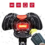#10: ROCKBROS 3 in 1 Intelligent Anti-Theft Alarm Warning Electric Wireless Bell Waterproof and Rechargeable Bicycle