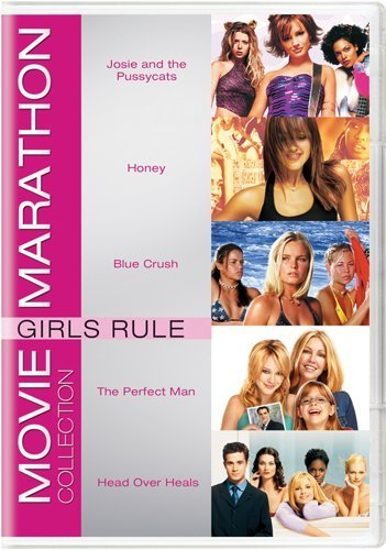 Movie Marathon Collection: Girls Rule (Josie and the Pussycats / Honey / Blue Crush / The Perfect Man / Head Over Heals) by Kate Bosworth (La Blue Girl Dvd)