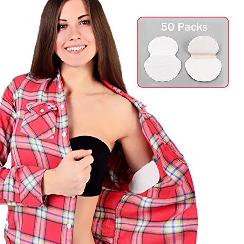 SHIJING 100 stücke Achselschweiß Pads Deodorants Aufkleber 50 Packungen Sommer Achsel Absorbing Einweg Anti Schweiß Patch Frauen