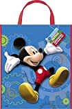 Unique Party Bolsa de Fiesta Grande de Mickey Mouse, 33 cm x 28 cm