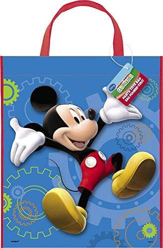Unique Party Supplies Mickey Mouse Party Tasche, groß, 33cm x 28cm