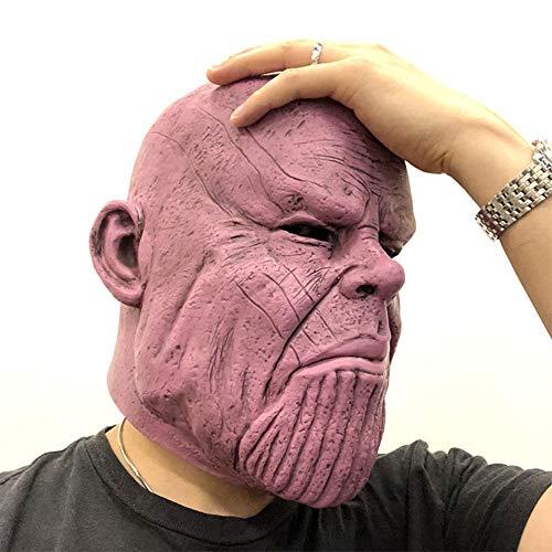 Kostüm Alten Guy - FWQAZ Halloween-Maske, perfekt für Fasching Kostüm für Erwachsene - Latex, Unisex Einheitsgröße Alter Mann kahl