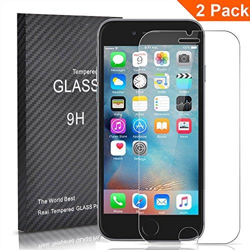 [2 Unidades] iphone6s Plus Protector Cristal Templado, Outera Protector Pantalla [3D Touch...