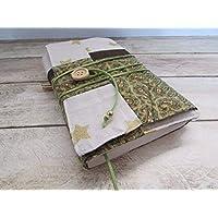 Protège livre fait main, couverture livre format poche, couvre livre en tissus coton patchwork, cadeaux voyage, cadeau noël, cadeaux maitresse