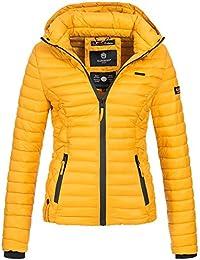 Marikoo SAMTPFOTE Damen Stepp Jacke Daunen Look Gesteppt Übergang XS-XXL 11- Farben 30d7261039