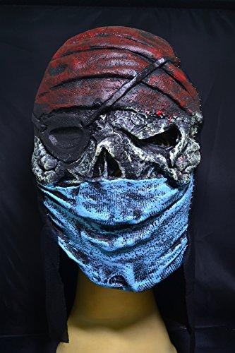 Smartfox Halloween Latex Maske - Taliban (Kostüm Halloween Taliban)