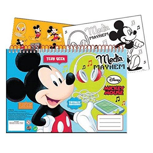 Guizmax specifiche di disegno, libro da colorare a4 + adesivi topolino