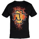 Rammstein, T-Shirt Lava Logo - XL