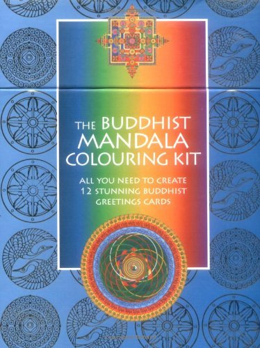Buddhist Mandala Colouring Kit (Mandala Colouring Kits) - Mandala Colouring Kit
